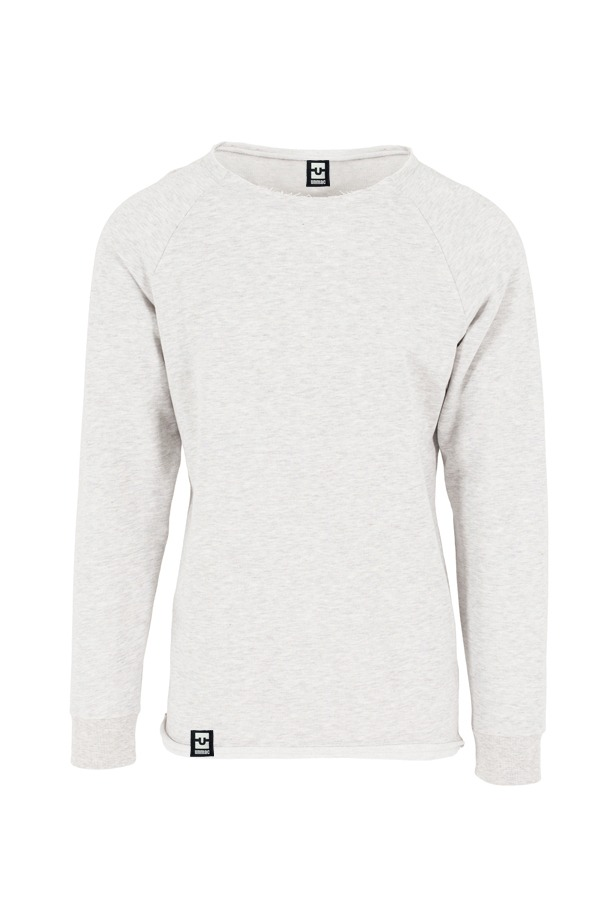 tone open edge Sweatshirt