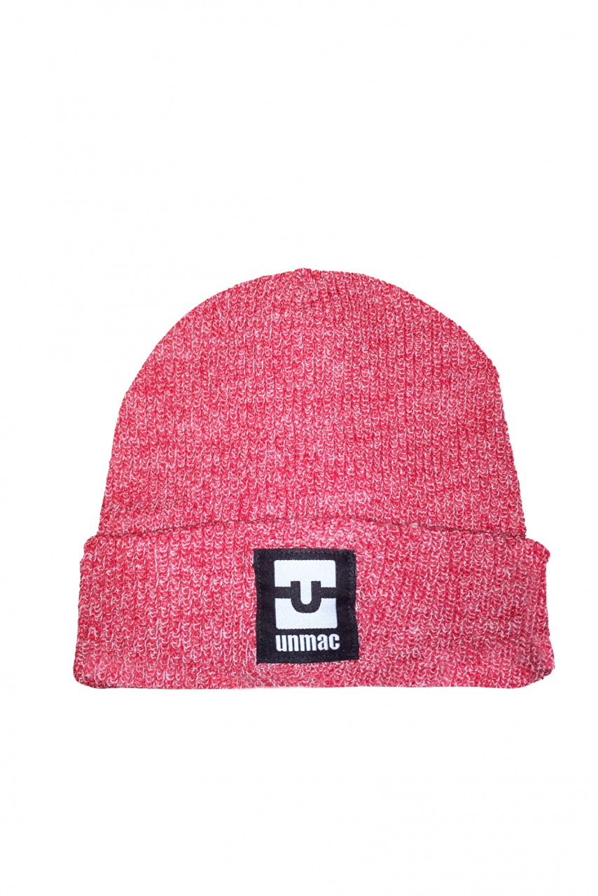 beanie BARNY heather red