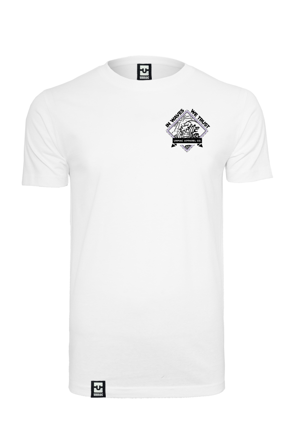 In waves we trust Shirt white