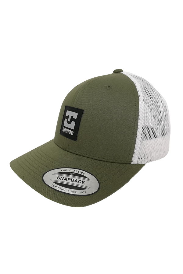 Trucker Logo olive/wht