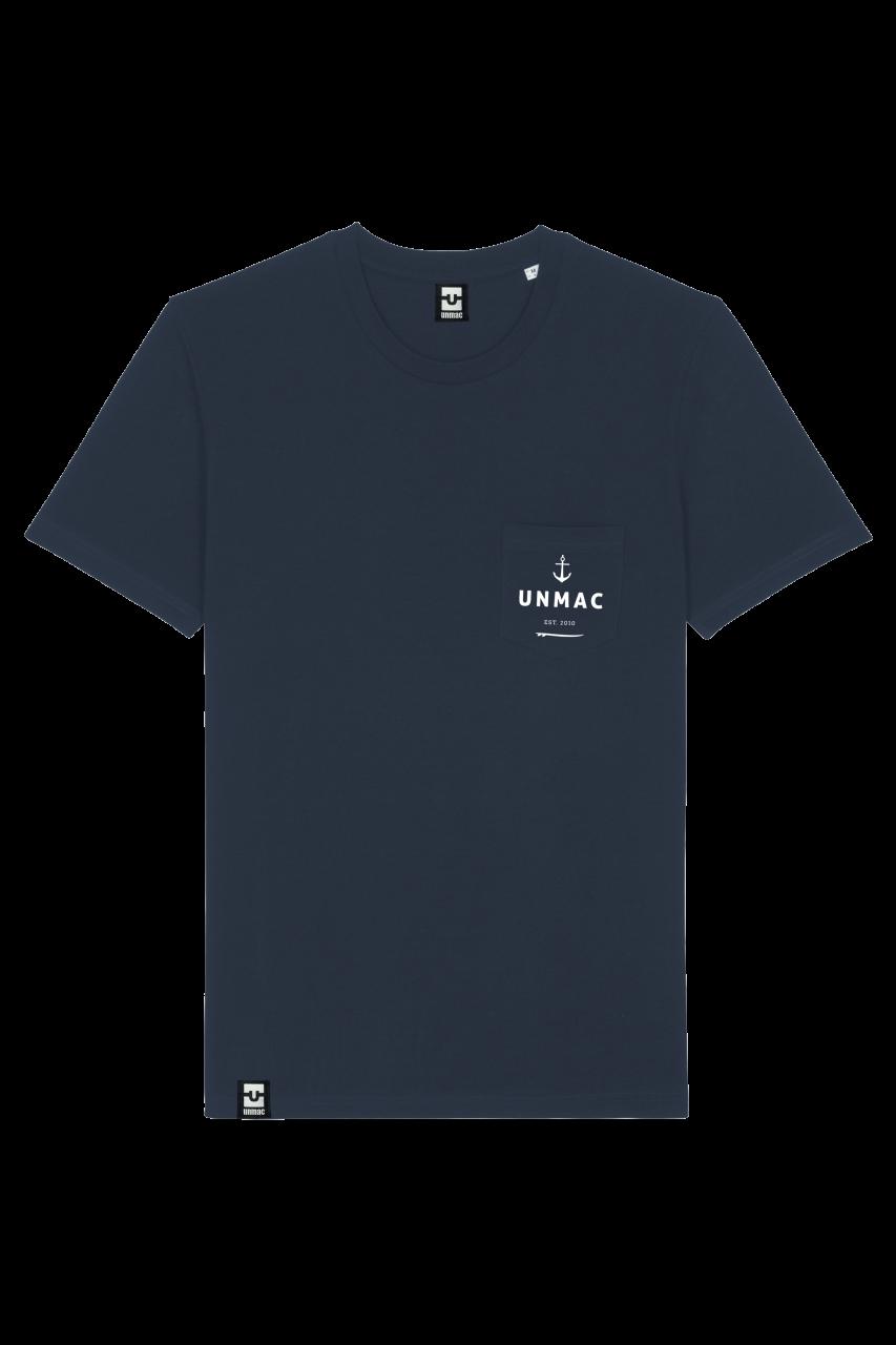 Shirt navy pocket